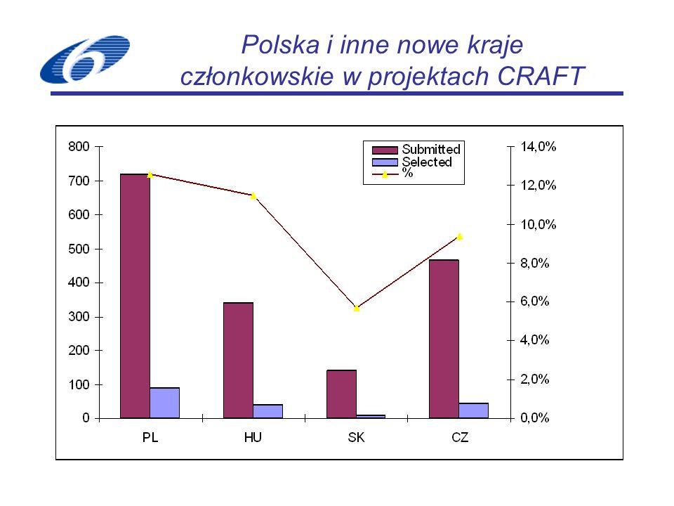 Polska i inne nowe kraje członkowskie w projektach CRAFT