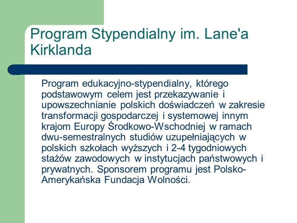 Program Stypendialny im.