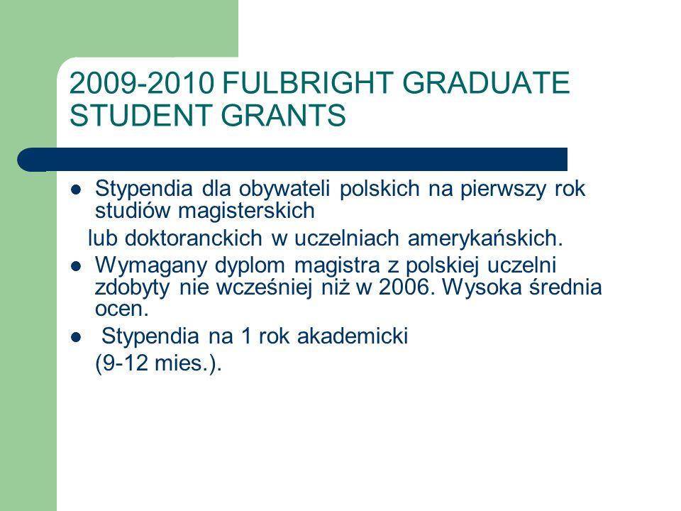 Fulbright Fellowships for U.S.