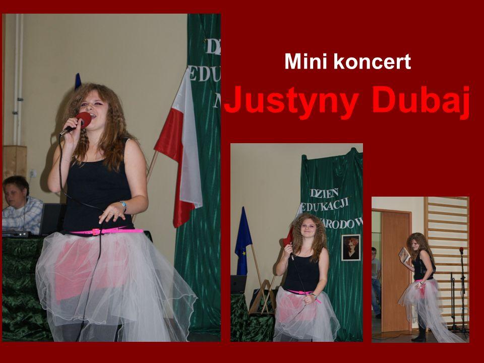 Mini koncert Justyny Dubaj