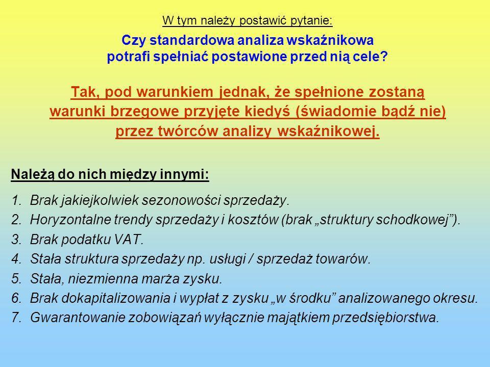 Podstawowe dane finansowe wybranych, działających w Polsce sklepów wielkopowierzchniowych (w mln zł) Nazwa firmy i aktualność danych Sprzedaż Marża handlowa Zysk na sprzedaży Zysk netto Płynność bieżąca Zapł.