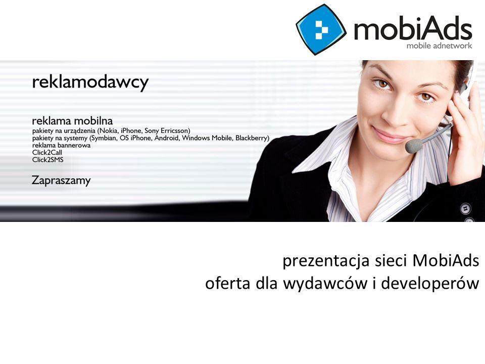 generujemy efekty prezentacja sieci MobiAds oferta dla wydawców i developerów