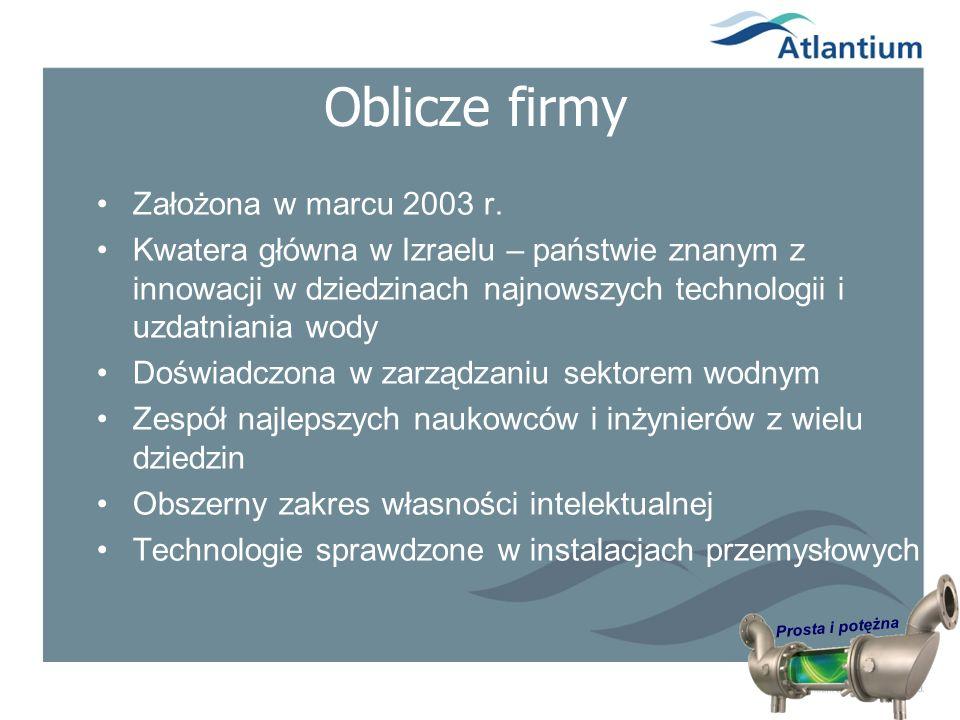Prosta i potężna Zastosowania w przemyśle spożywczym (w trakcie badań*) KorzyściZastosowanie Znaczne obniżenie kosztów Mniej czynności konserwacyjnych Pasteryzacja wody1 Mniejsze zapotrzebowanie na chlor Mniejsze wymiary filtrów z węglem aktywowanym Łatwiejsze sterowanie i konserwacja Dezynfekcja zbiorników zasobnikowych Obniżenie THM (trihalometan) 2 Dostosowanie do składu chemicznego wody Ochrona membran Odchlorowywanie3 Eliminacja zakażenia / Legionelli Obniżone zużycie substancji chemicznych Obniżone koszty eksploatacji i mniej przerw w pracy Zgodne z wymogami / przepisami Chłodnie kominowe / chłodnice płytowe 4