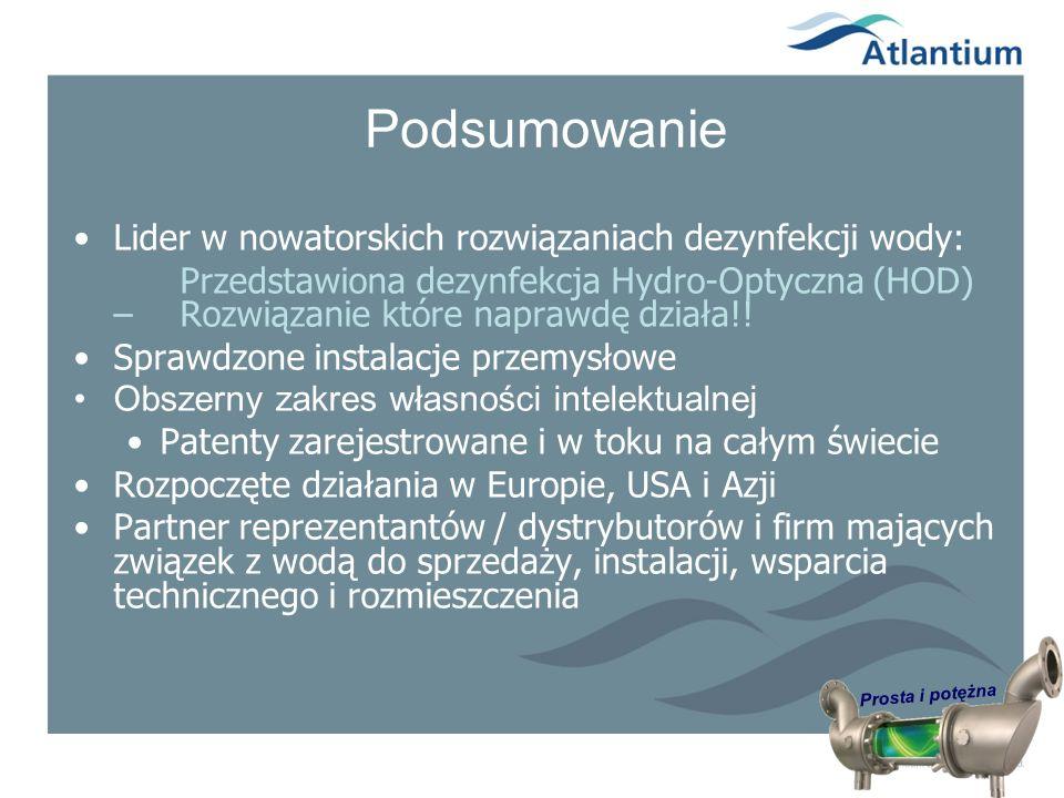 Prosta i potężna Podsumowanie Lider w nowatorskich rozwiązaniach dezynfekcji wody: Przedstawiona dezynfekcja Hydro-Optyczna (HOD) – Rozwiązanie które