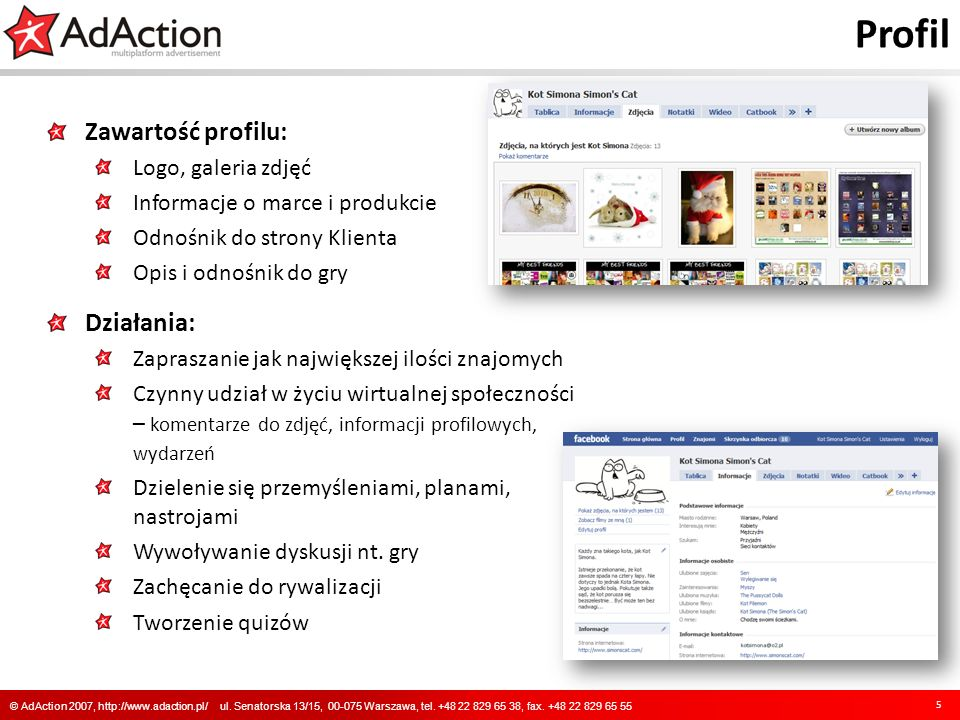 Profil 5 © AdAction 2007, http://www.adaction.pl/ ul.