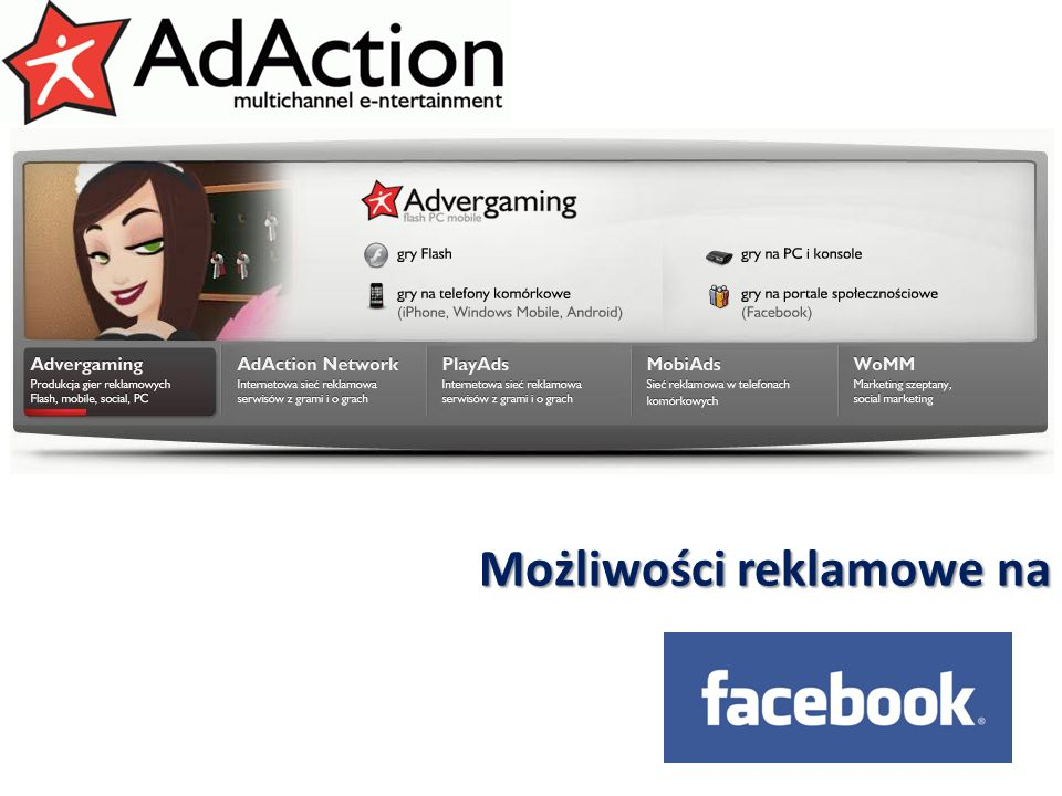 generujemy efekty Możliwości reklamowe na