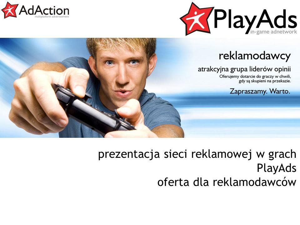 generujemy efekty prezentacja sieci reklamowej w grach PlayAds oferta dla reklamodawców