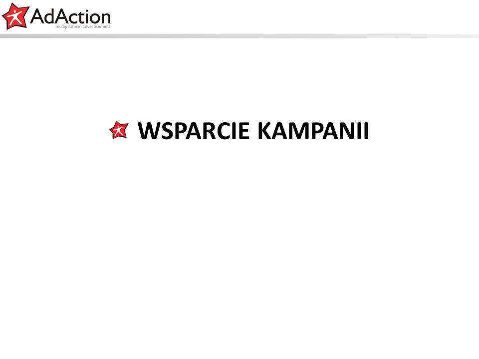 generujemy efekty WSPARCIE KAMPANII