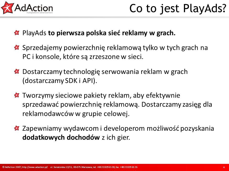 Co to jest PlayAds. PlayAds to pierwsza polska sieć reklamy w grach.