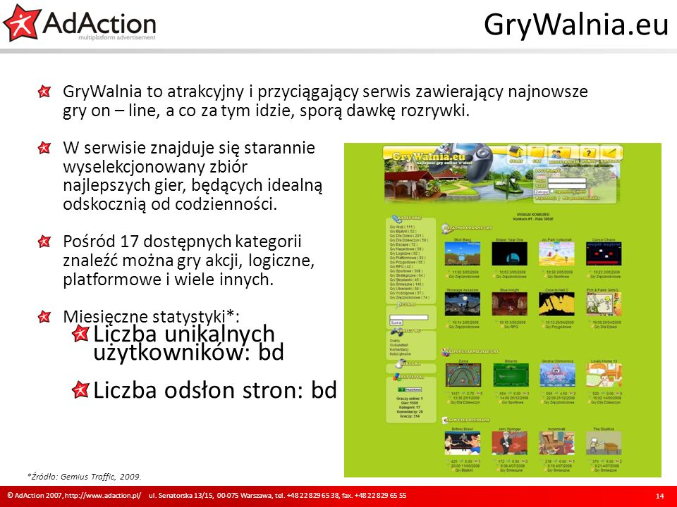 GryWalnia.eu GryWalnia to atrakcyjny i przyciągający serwis zawierający najnowsze gry on – line, a co za tym idzie, sporą dawkę rozrywki. W serwisie z