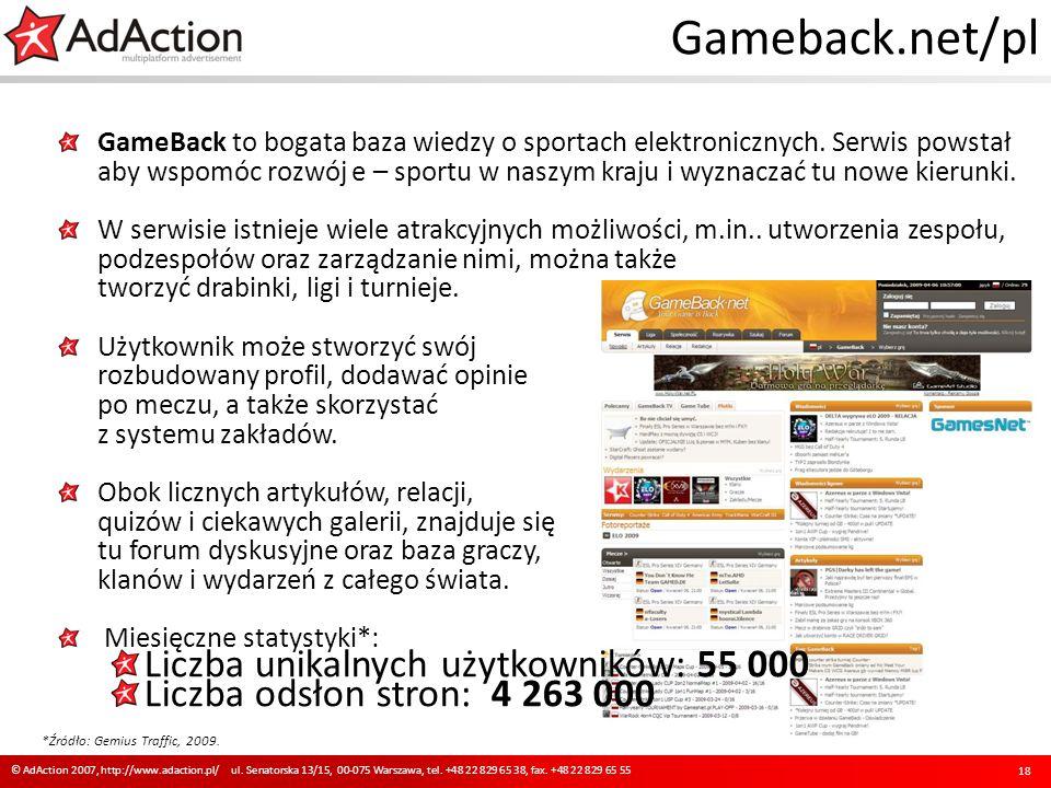 Gameback.net/pl GameBack to bogata baza wiedzy o sportach elektronicznych. Serwis powstał aby wspomóc rozwój e – sportu w naszym kraju i wyznaczać tu