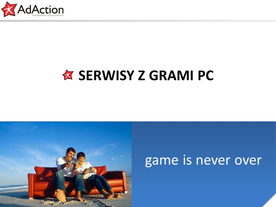 generujemy efekty game is never over SERWISY Z GRAMI PC