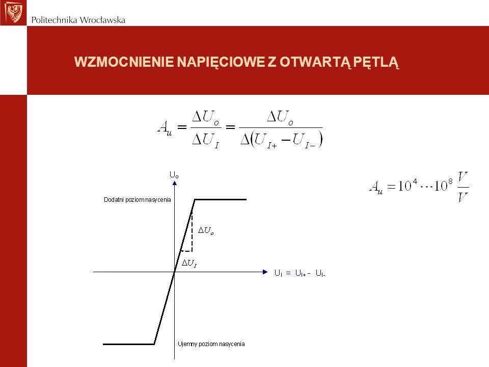 WEJŚCIOWE NAPIĘCIE NIEZRÓWNOWAŻENIA (input offset voltage)