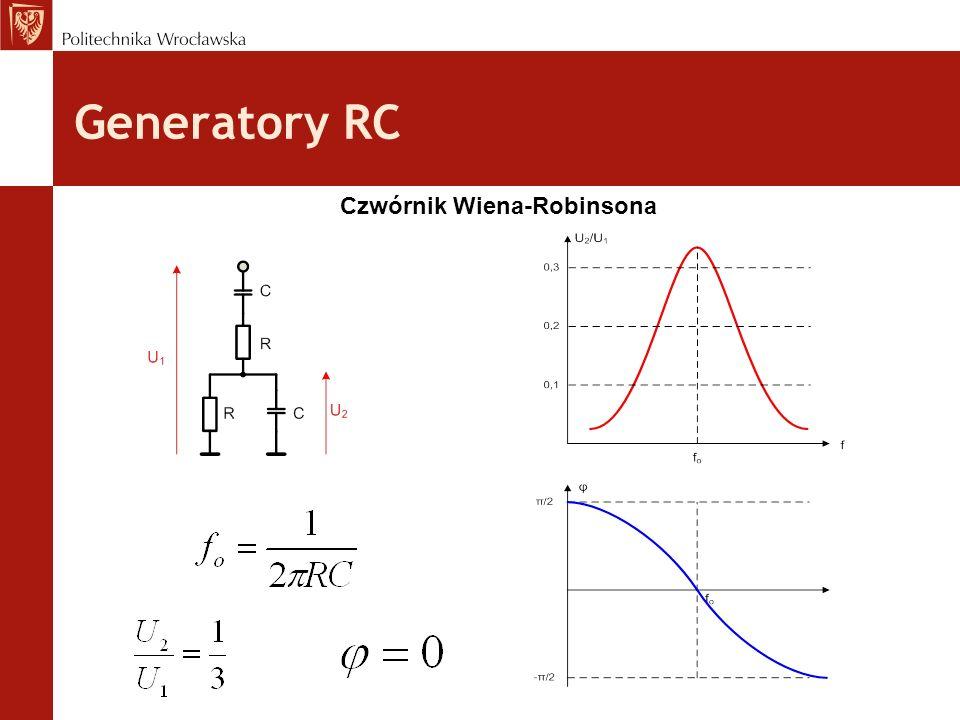 Generatory RC Czwórnik Wiena-Robinsona