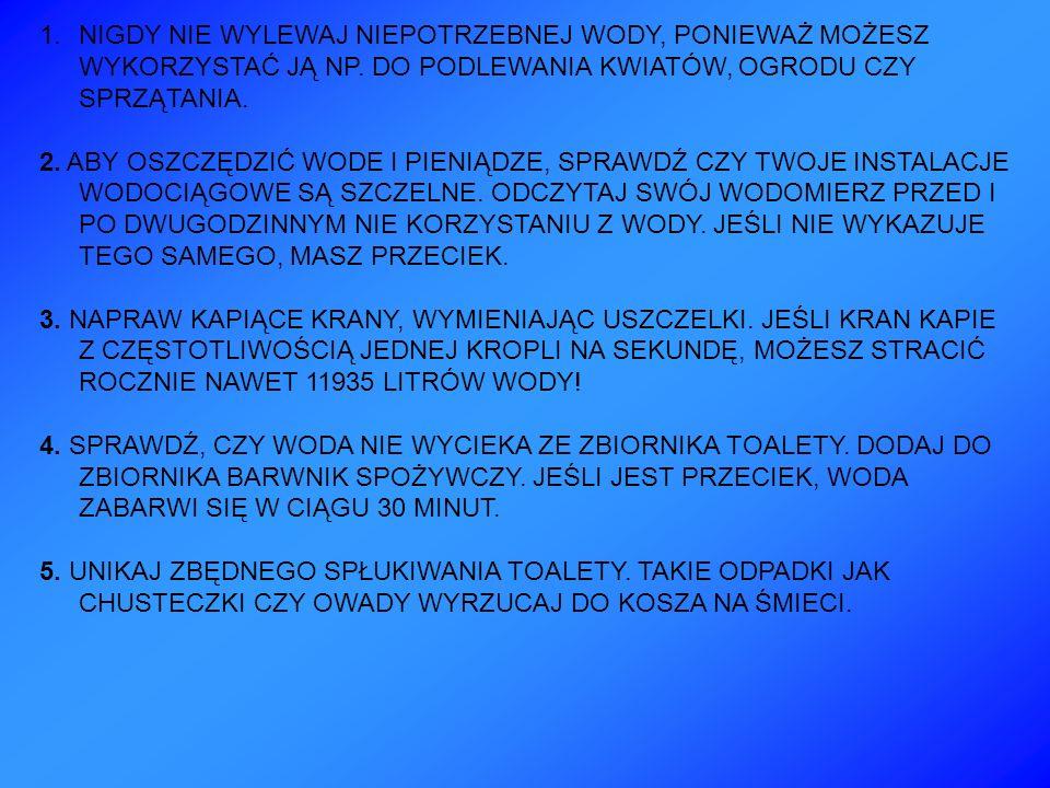 6.BIERZ SZYBKI PRYSZNIC.
