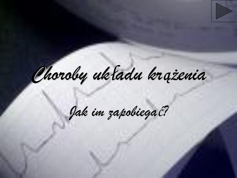 44,5% Polaków ma ciśnienie wyższe niż 140/90 mmHg (powyżej normy ustalonej przez WHO) 90%ludzi w Polsce nie zdaje sobie sprawy ze znaczenia sportu dla zdrowia człowieka U 57% dorosłych Polaków stwierdza się nadwagę lub otyłość 50% ludzi w Polsce pali papierosy Rocznie w Polsce umiera około 100 tys.