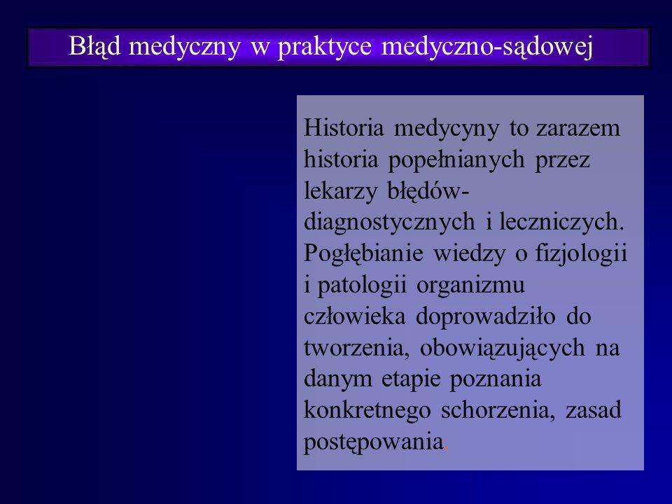 Barbara KATEDRA MEDYCYNY SĄDOWEJ A.M. WE WROCŁAWIU ZAKŁAD PRAWA MEDYCZNEGO Prof. dr hab. Barbara Świątek PRAWO MEDYCZNE Błąd lekarski.