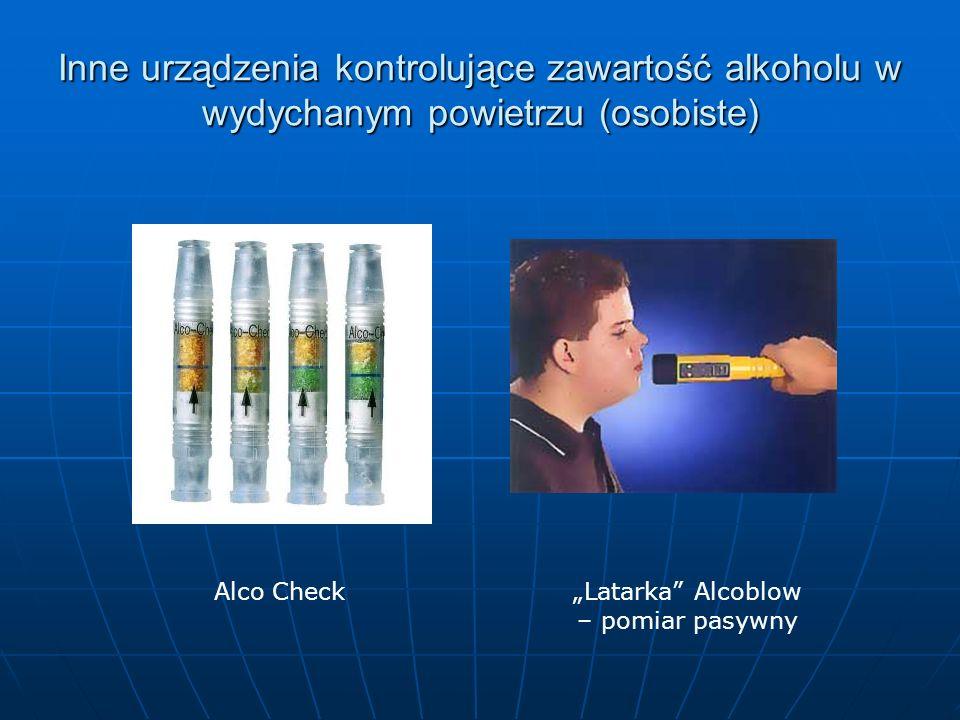 Środki działające podobnie do alkoholu Rozporządzenie jw.: § 7.