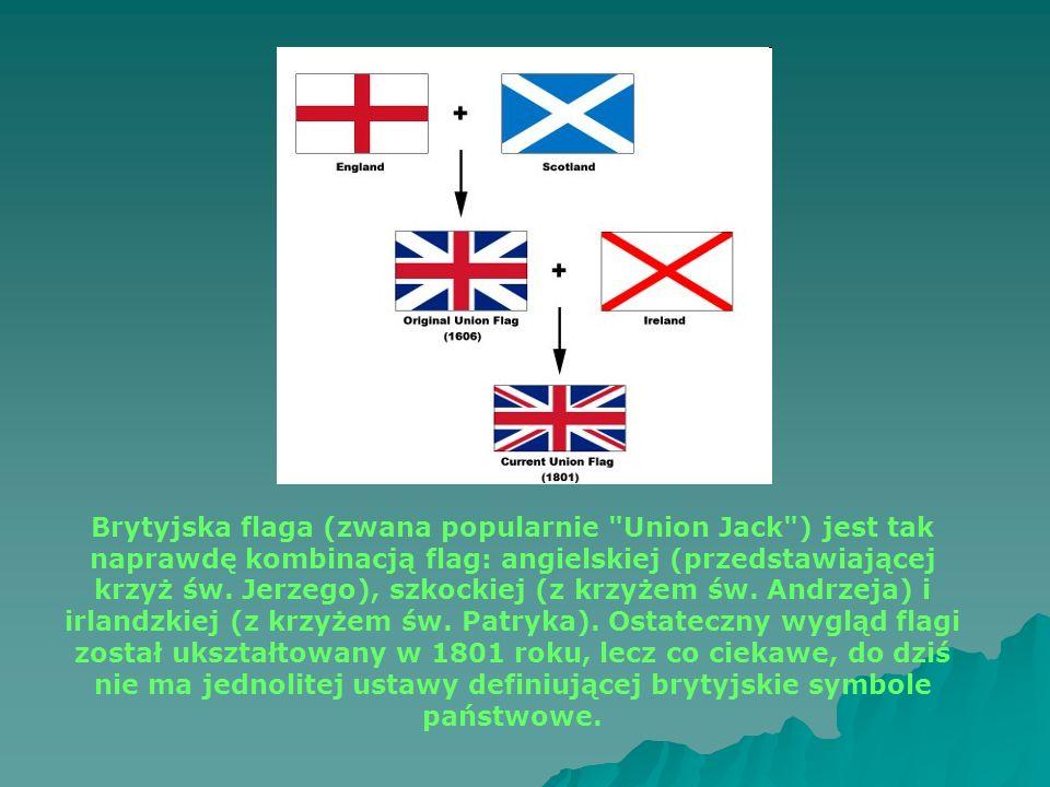 Brytyjska flaga (zwana popularnie