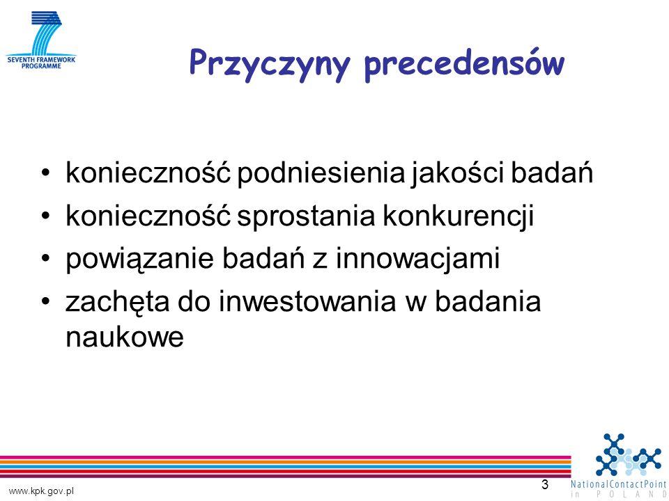 www.kpk.gov.pl 4 Struktura ERB Rada Naukowa specjalna jednostka ds.