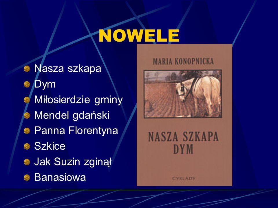 Dzieła krytyczne i eseistyka literacka Portrety piórem (1898), Mickiewicz, jego życie i duch (1899), Trzy studia (1902), Szkice (1905). Także m.in.: P