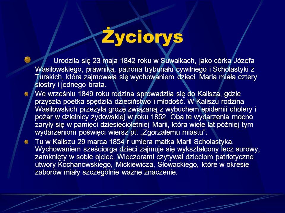 Maria Konopnicka Życie i twórczość