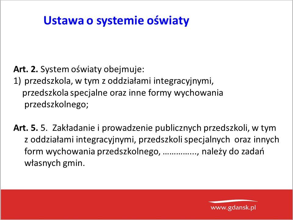 Ustawa o systemie oświaty Art. 2.