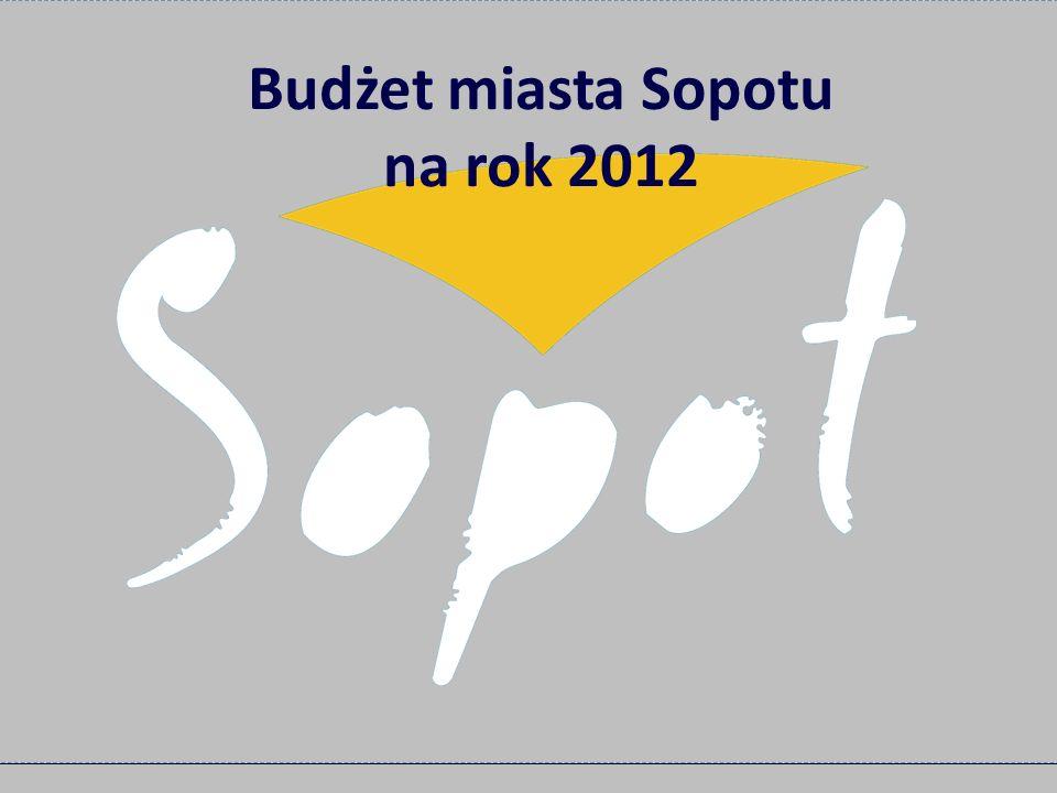 Budżet miasta Sopotu na rok 2012