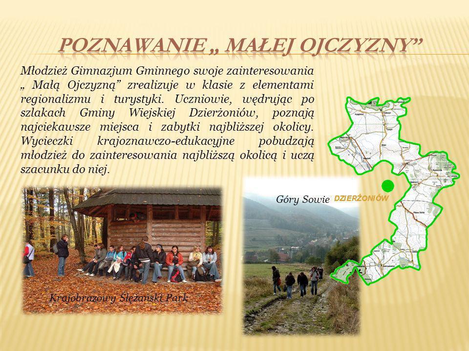 W roku szkolnym 2008/2009 w Gimnazjum Gminnym została otwarta klasa z elementami regionalizmu i agroturystyki.