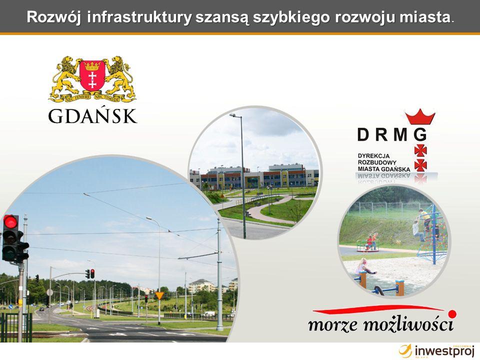 Rozwój infrastruktury szansą szybkiego rozwoju miasta Rozwój infrastruktury szansą szybkiego rozwoju miasta.