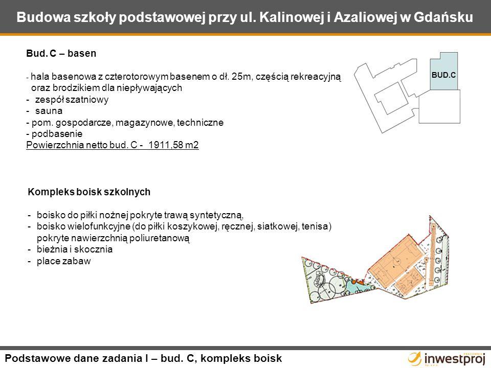 Budowa szkoły podstawowej przy ul.Kalinowej i Azaliowej w Gdańsku Bud.