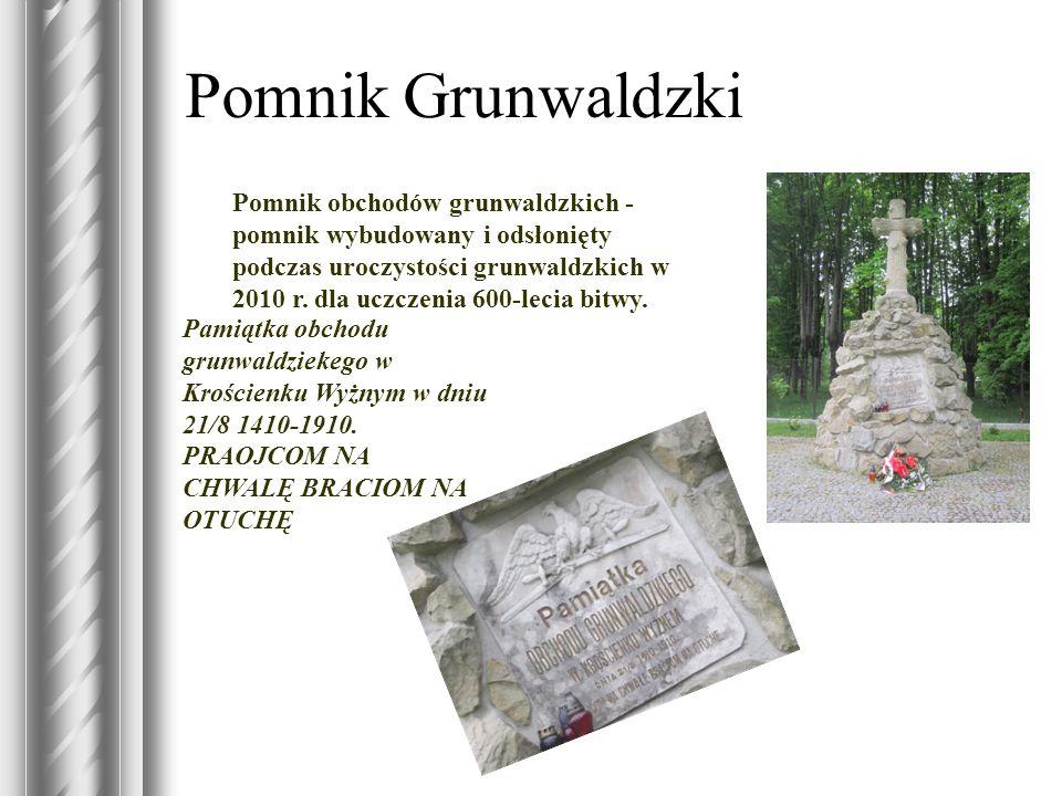 Pomnik Grunwaldzki Pomnik obchodów grunwaldzkich - pomnik wybudowany i odsłonięty podczas uroczystości grunwaldzkich w 2010 r. dla uczczenia 600-lecia