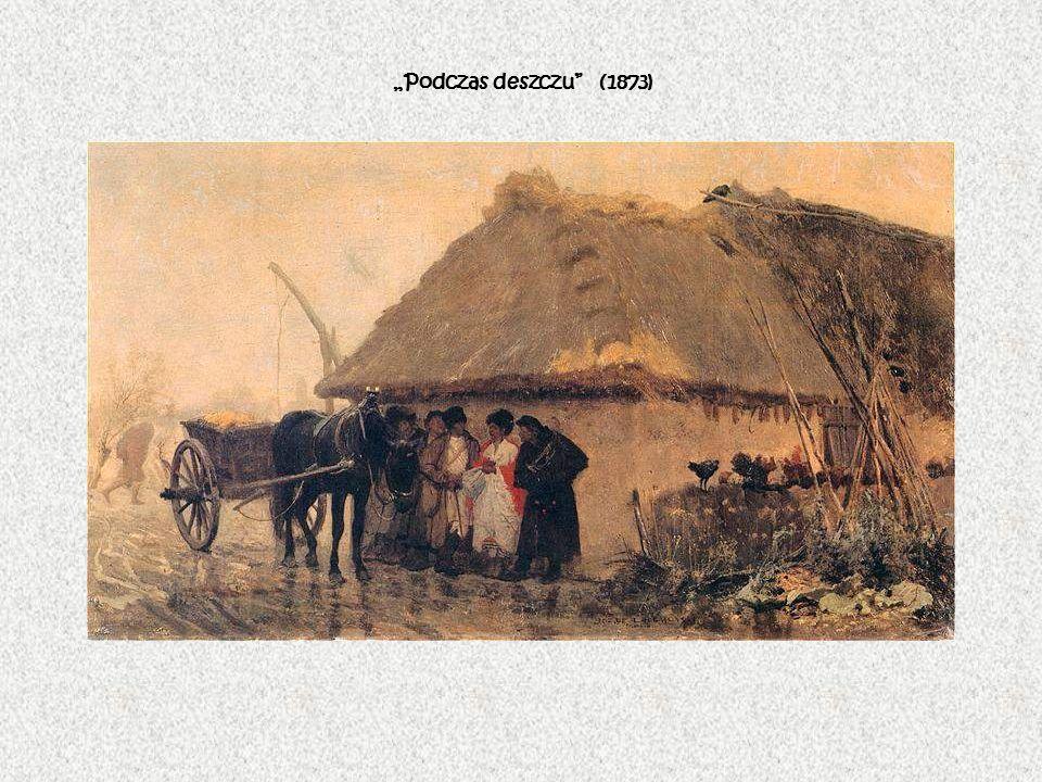 Podczas deszczu (1873)