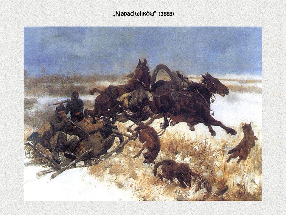 Napad wilków (1883)