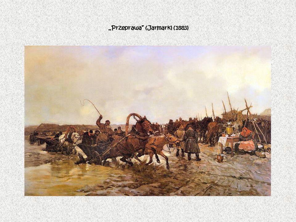 Przeprawa (Jarmark) (1883)