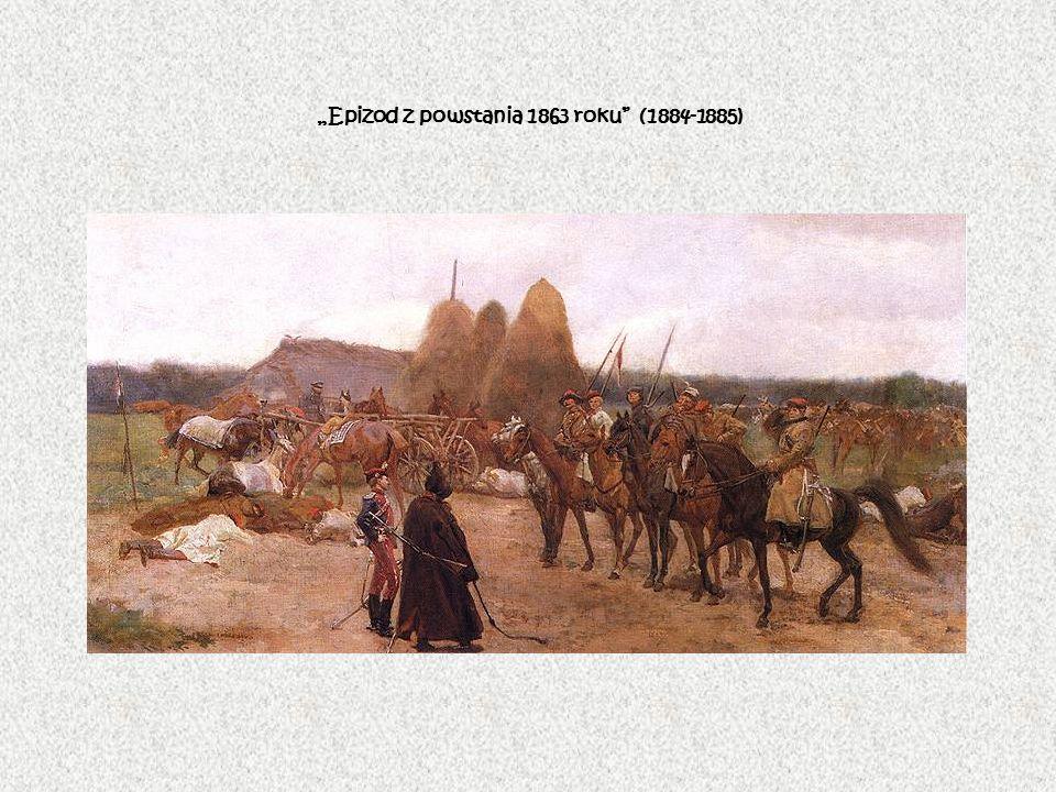 Epizod z powstania 1863 roku (1884-1885)