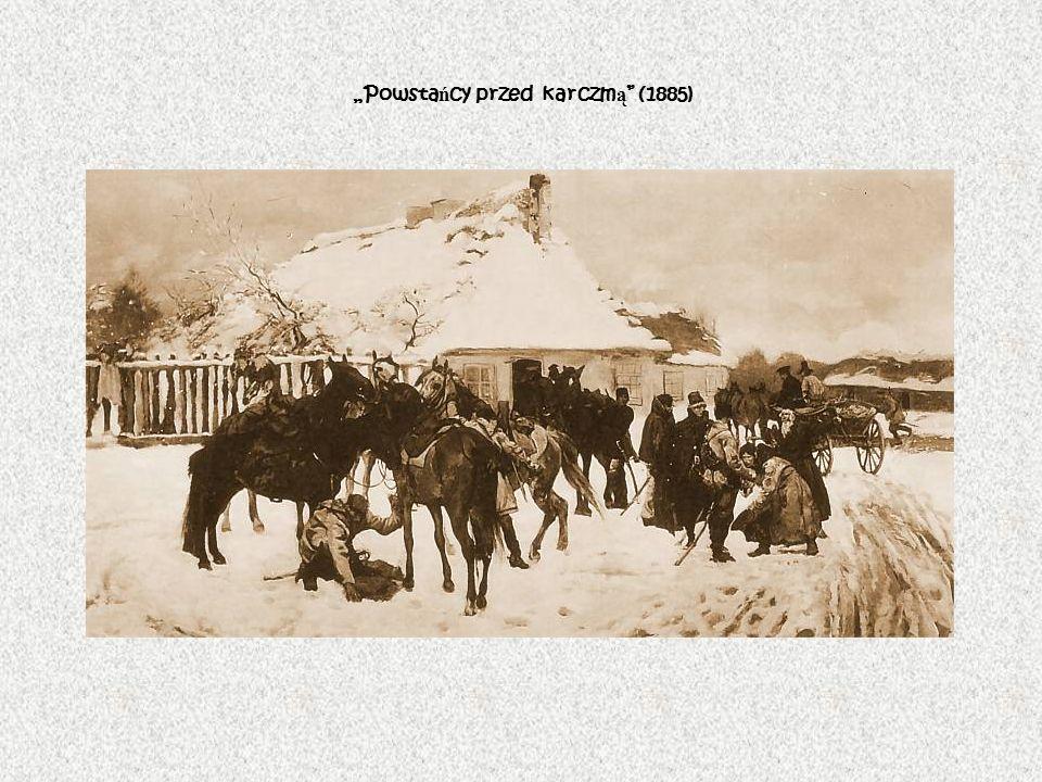 Powsta ń cy przed karczm ą (1885)