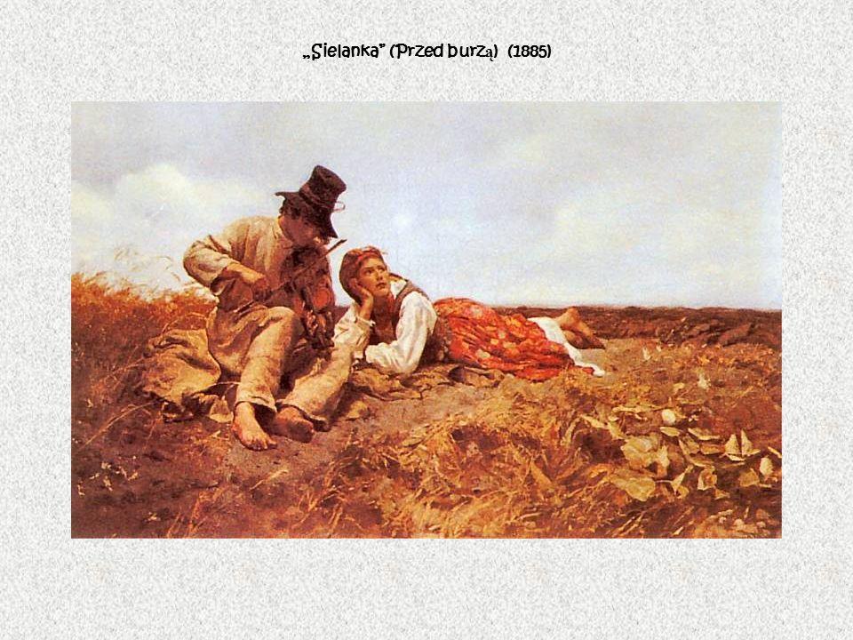 Sielanka (Przed burz ą ) (1885)