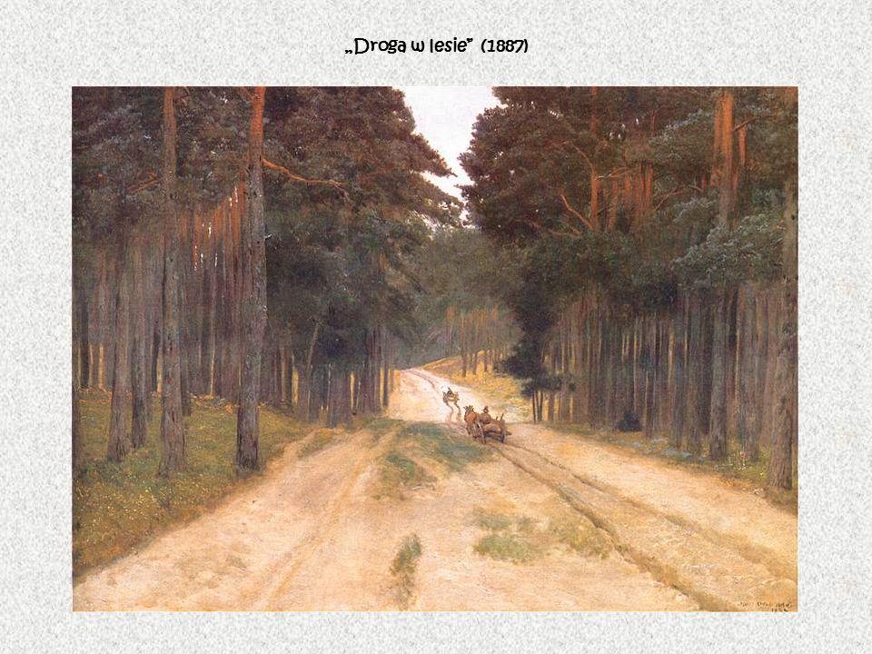 Droga w lesie (1887)