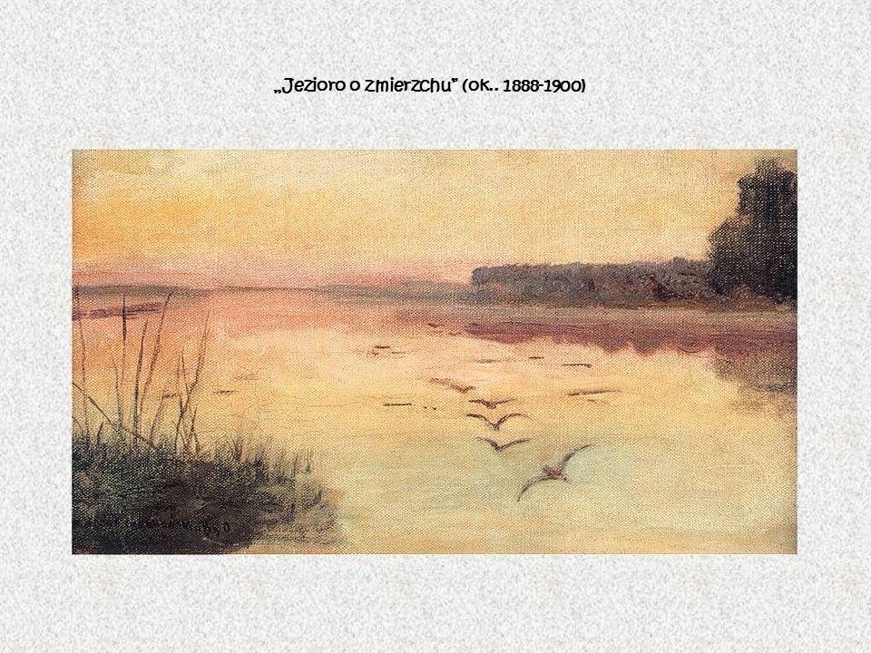 Jezioro o zmierzchu (ok.. 1888-1900)