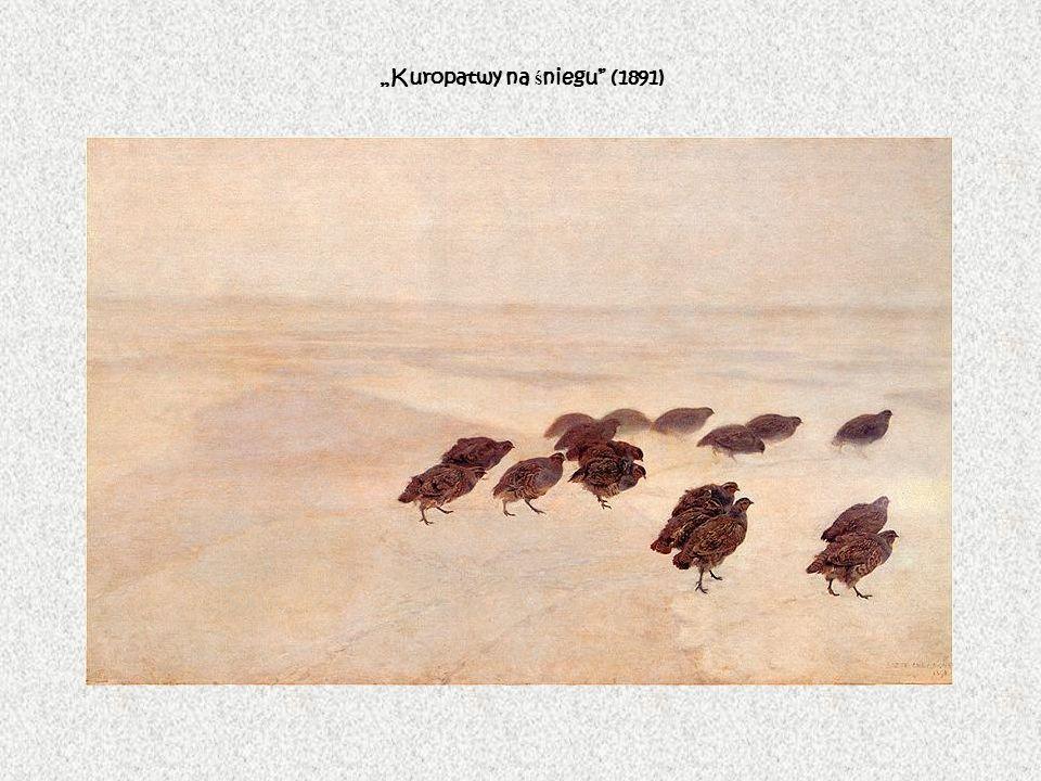 Kuropatwy na ś niegu (1891)