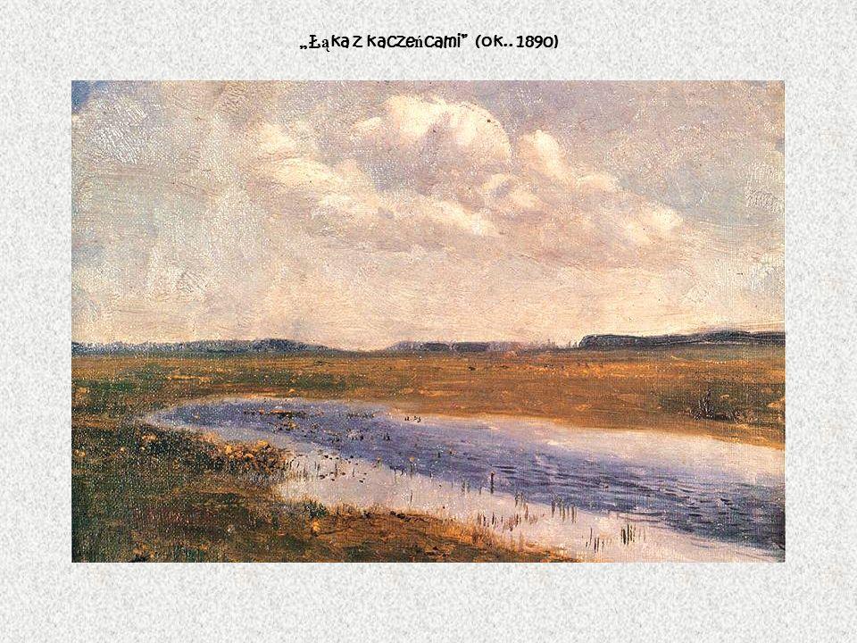 Ł ą ka z kacze ń cami (ok.. 1890)