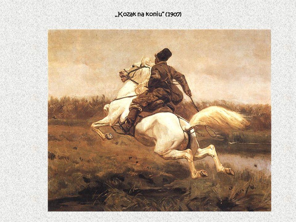 Kozak na koniu (1907)