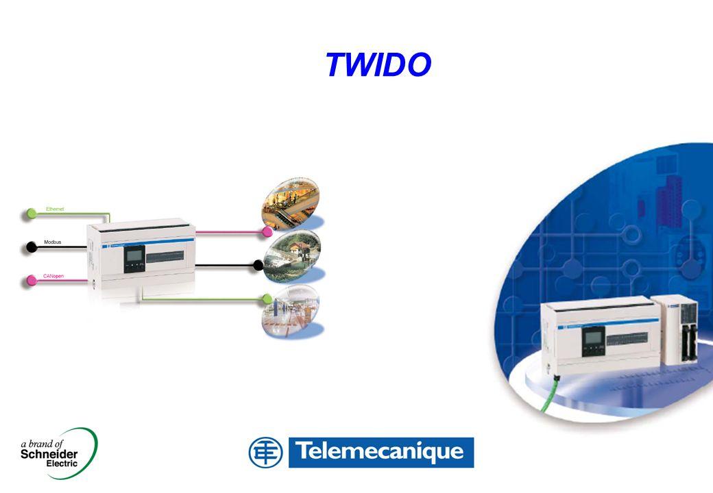 LEC CONTROL – M.Denis – Dec 2004 – bud presentation_EN.ppt 2 Modele COMPACT 10 E/S 100 10 20+ 40+ 1 2 3 16 24+ 20+ modele MODULAR + 4 moduły + 7 modułów możliwości rozbudowy Twido przypomnienie oferty
