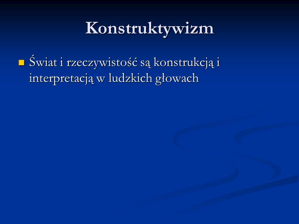 Konstrukcja wiedzy jako koncepcja dydaktyczna w nauczaniu języka obcego Cele nauczania Cele nauczania Treści nauczania Treści nauczania Otoczenie Otoczenie Wspierania umiejętności konstruowania wiedzy Wspierania umiejętności konstruowania wiedzy
