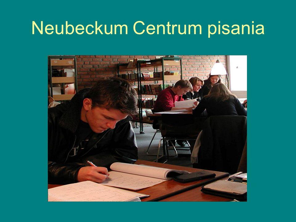Neubeckum Centrum pisania