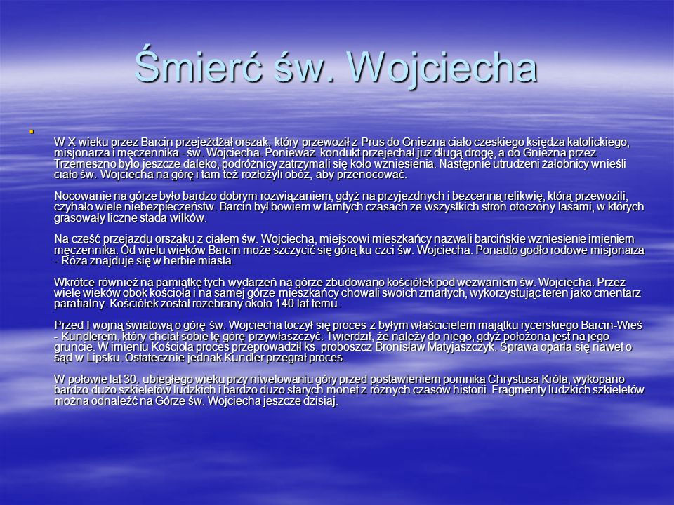 Śmierć św. Wojciecha