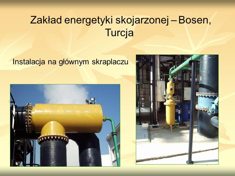 Zakład energetyki skojarzonej – Bosen, Turcja Instalacja na głównym skraplaczu