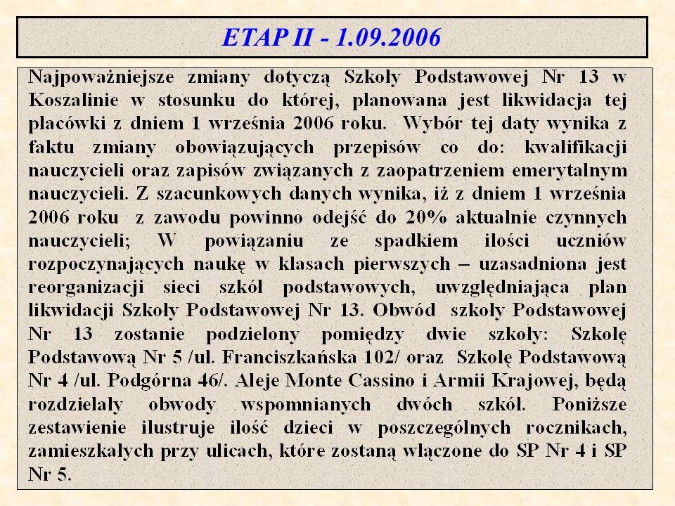 ETAP II - 1.09.2006 R. 4 5 13