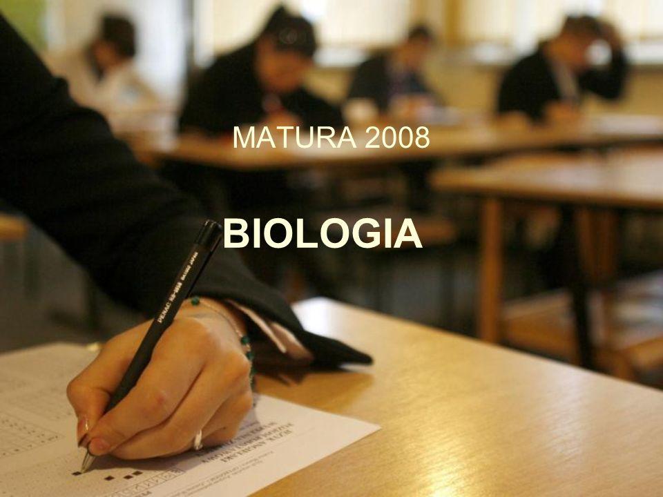BIOLOGIA MATURA 2008